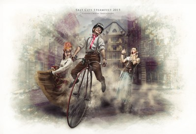 SteamPunk Compositing