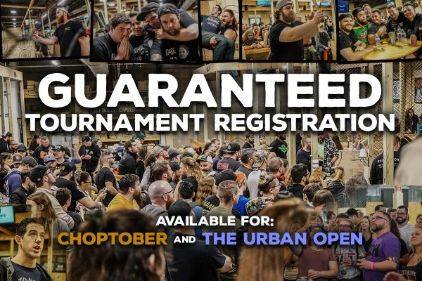 Guaranteed Tournament Registration