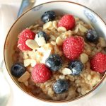 Brown Rice & Quinoa porridge