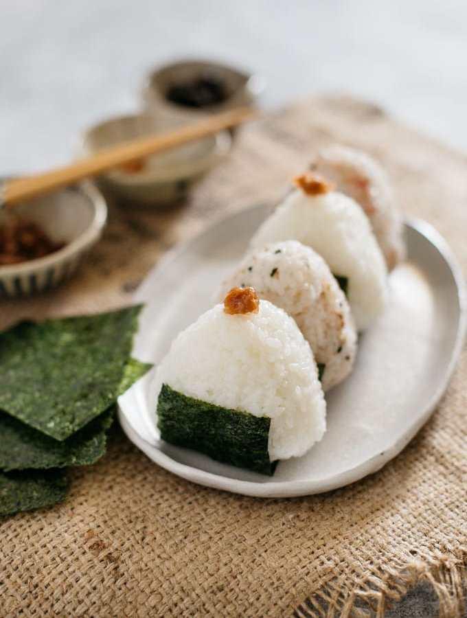 Japanese rice balls