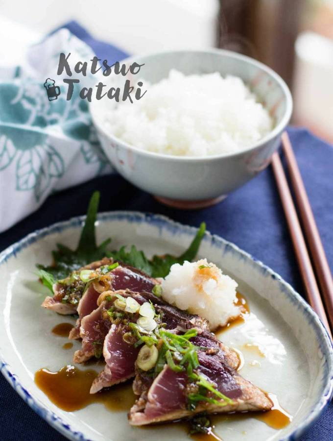 Katsuo Tataki 鰹のタタキ