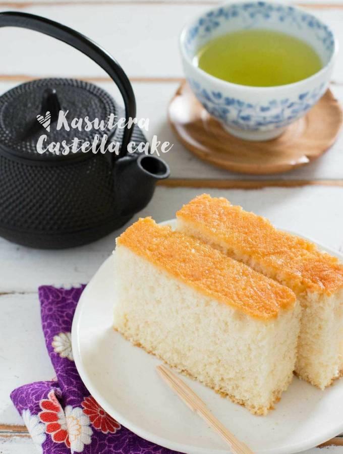 Kasutera Japanese castella cake カステラ