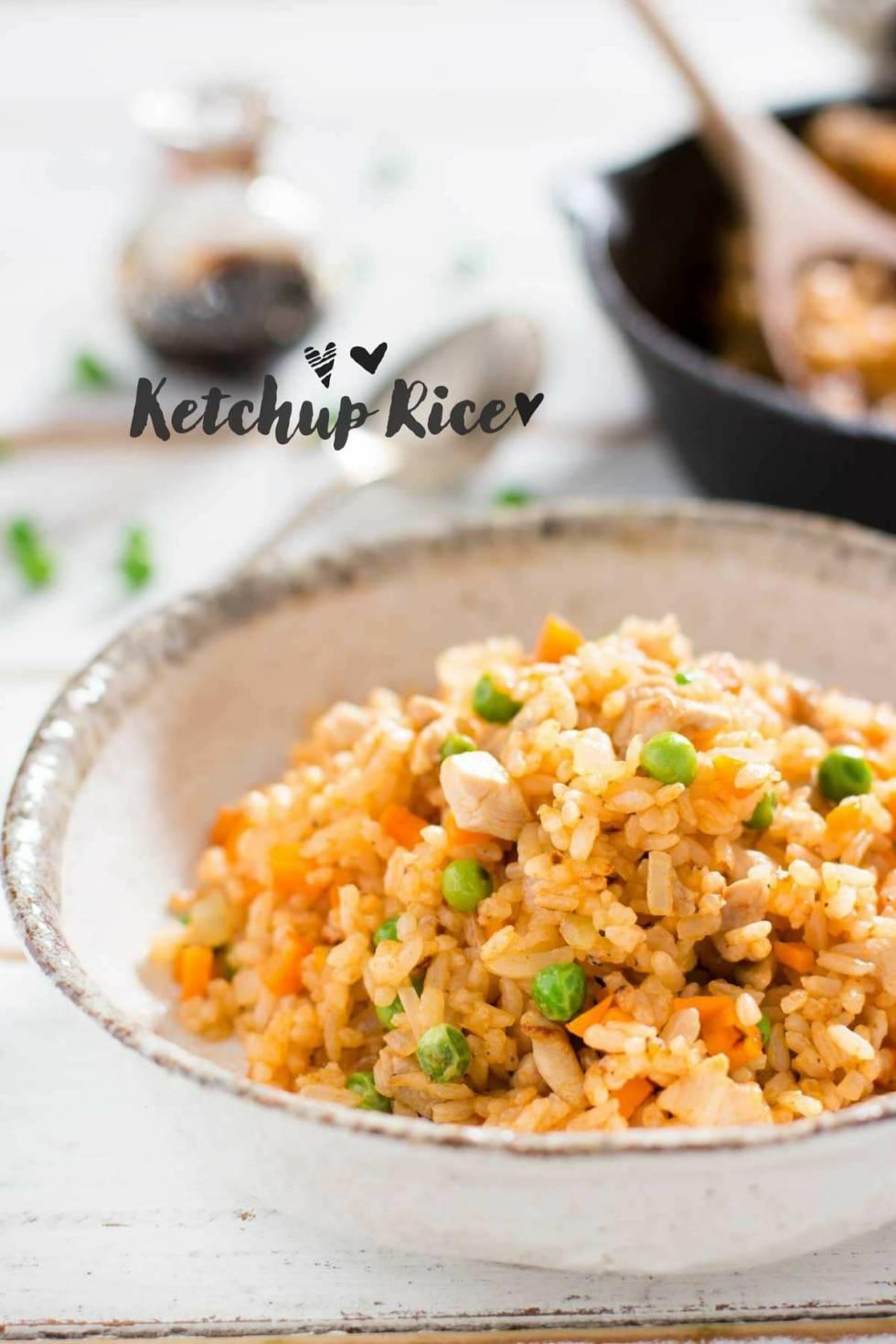 ketchup rice