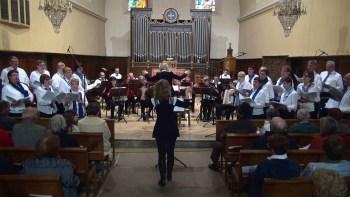 Concert dans une église