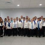 Concert du Choeur de la Source organisée pour les voeux du maire