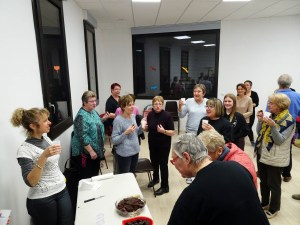 Fête d'anniversaire des choristes de la chorale de Tupin et Semons Le Choeur de la Source