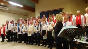 Concert de la chorale le Choeur de la Source de Tupin et Semonsà Champagne en Ardêche