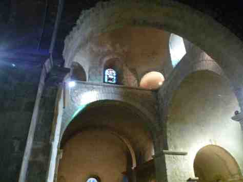 Eglise de St Rambert ( St Just St Rambert), ses voûtes