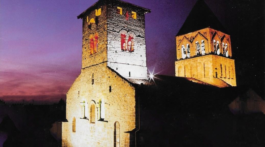 L'église de Saint Rambert sur Loire prête à affronter son second millénaire.
