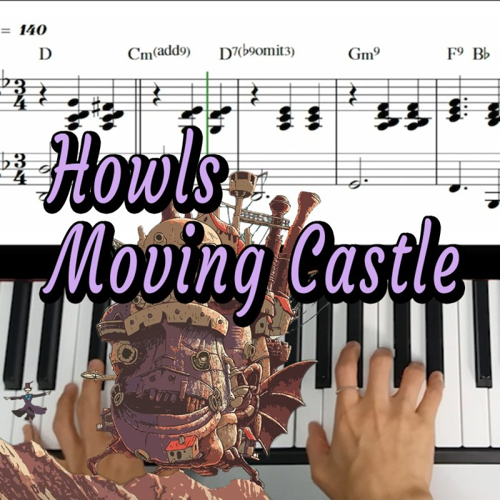 Howls moving castle Music Sheet