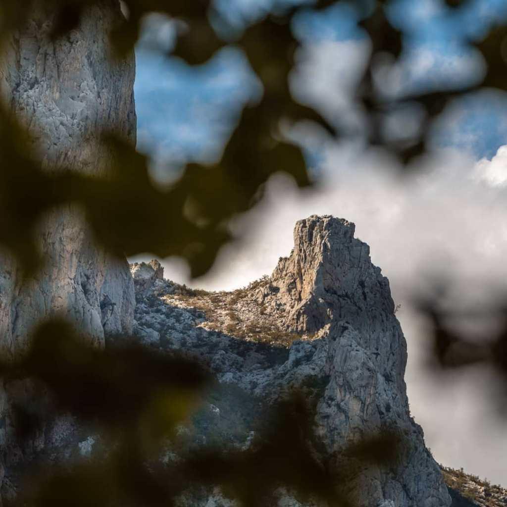Skały w Parku Narodowym Paklenica
