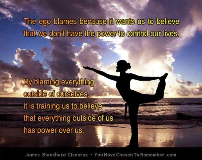 Inspirational Quote About Judgment by James Blanchard Cisneros, author of spiritual self help books.