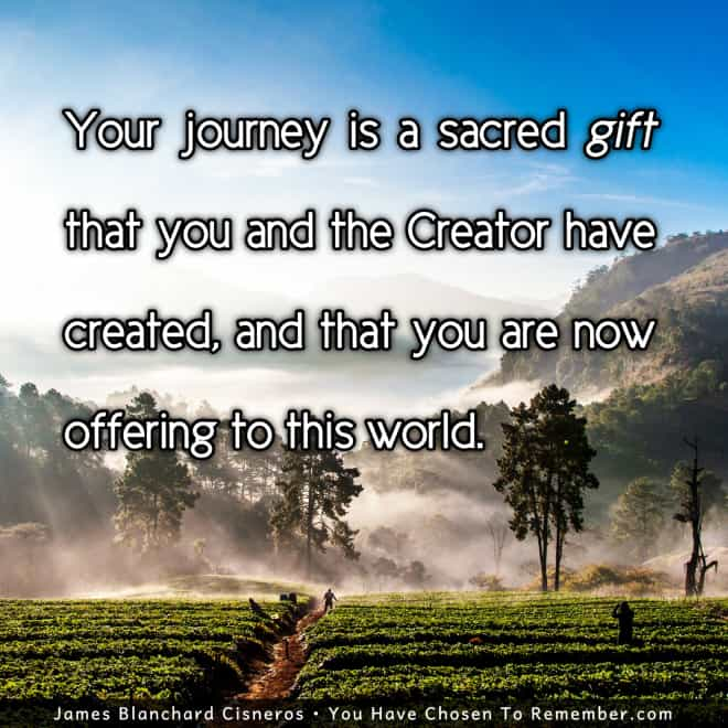 Life Purpose - Sacred Journey - Inspirational Quote 258