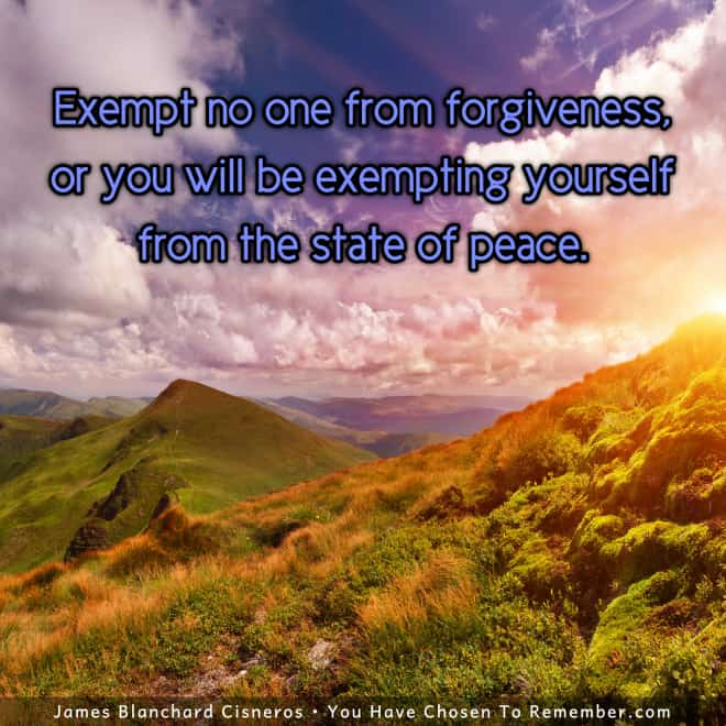 Inspoiring Message - Forgiveness and Inner Peace