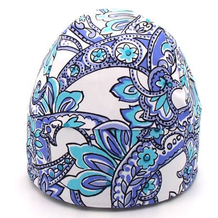 GLIDE No Sparkle Print: Paisley Aqua and Blue