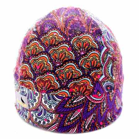 GLIDE Sparkle Print: Peacock Pink Purple