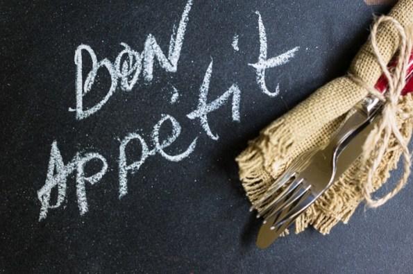 Bon Appetit Chalkboard