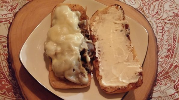Homemade Cheese Steak Sandwiches