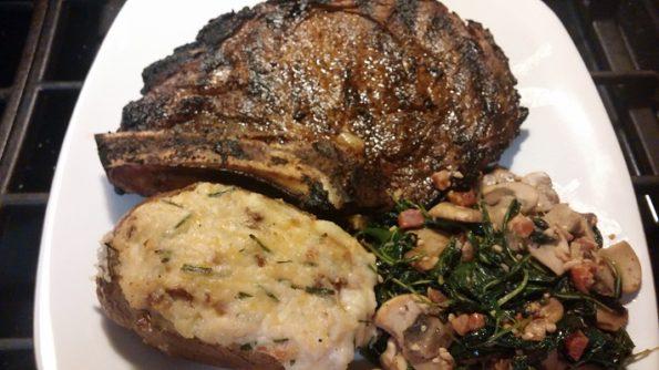 Darn Good Grilled Ribeye Steaks