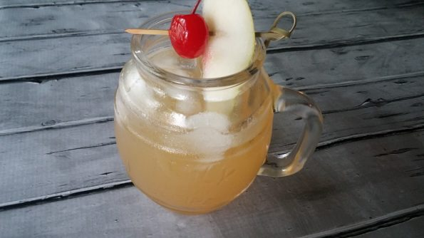 Pear Delight Rum Cocktail