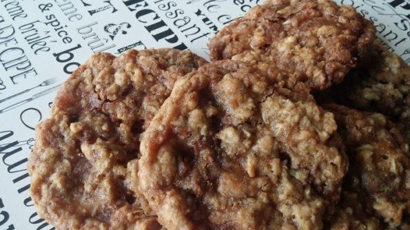 Oatmeal Toffee Cookies - Cookie Week Recipe Eight