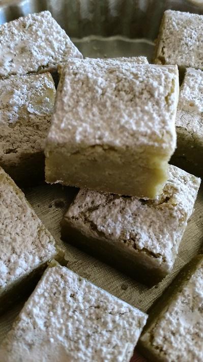 Matcha White Chocolate Brownies