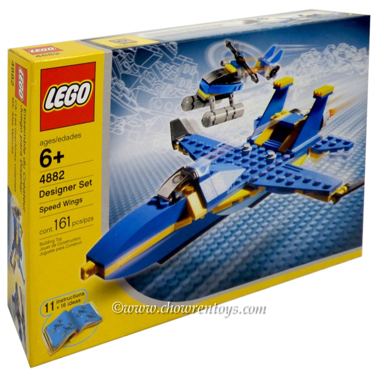LEGO Designer Sets  4882 Speed Wings NEW     The LEGO Group   Warner Bros Entertainment Inc       2018 Notch  Developments AB  MINECRAFT is a trademark of Notch Developments AB  MOJANG  is a trademark