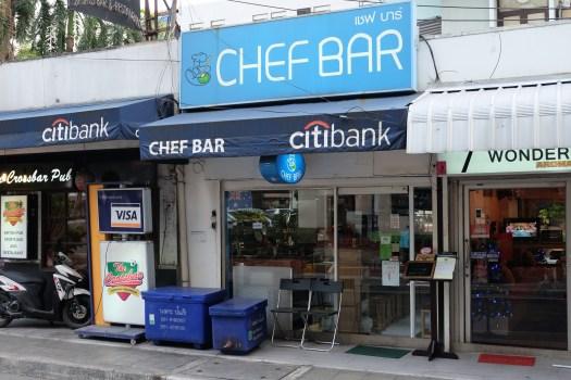 Chef Bar Outside