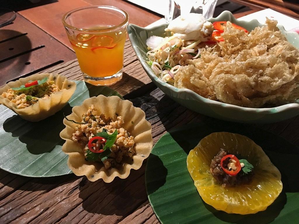 Supanniga Dinner Cruise Bangkok Appetizer