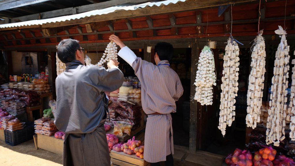 Yak cheese Bhutan