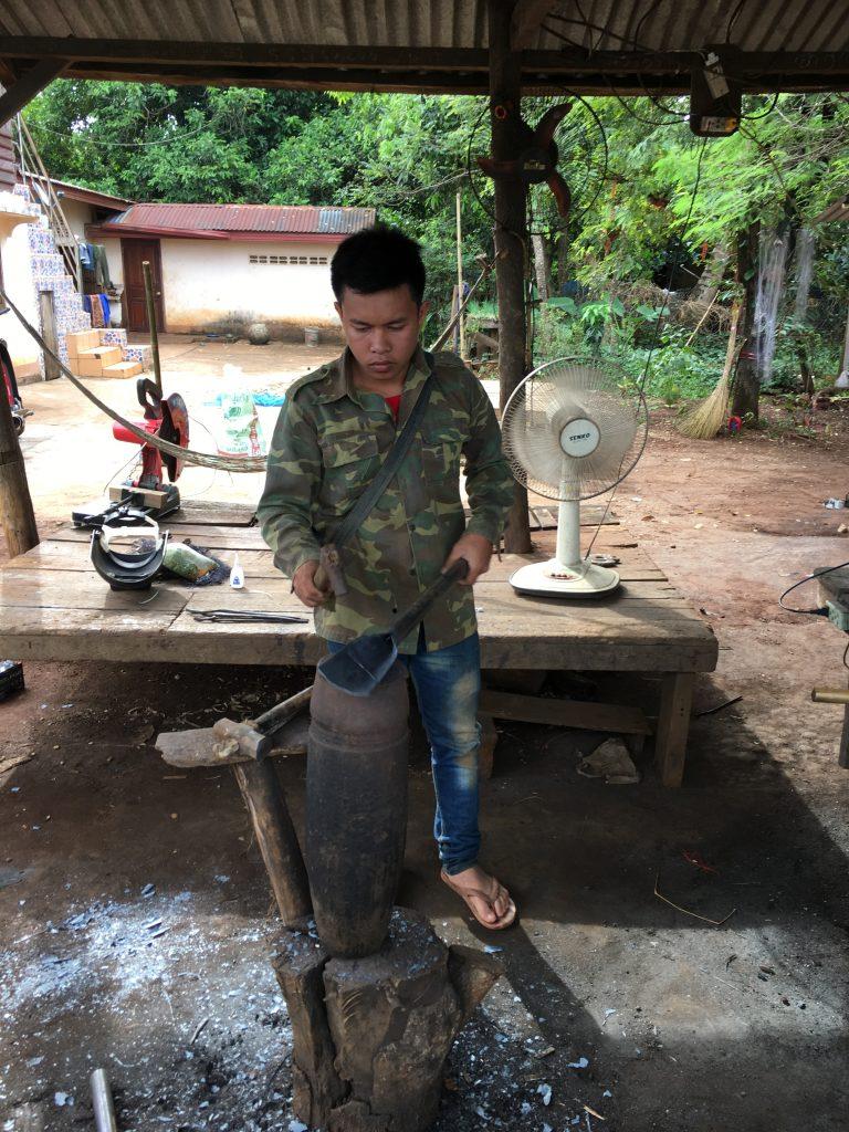 Pakse, Laos Blacksmith