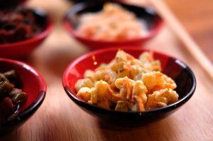 macaroni salad at Ask Kickers Bangkok