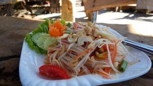 Som Tum Thai Salad Hippie Bar Koh Phayam