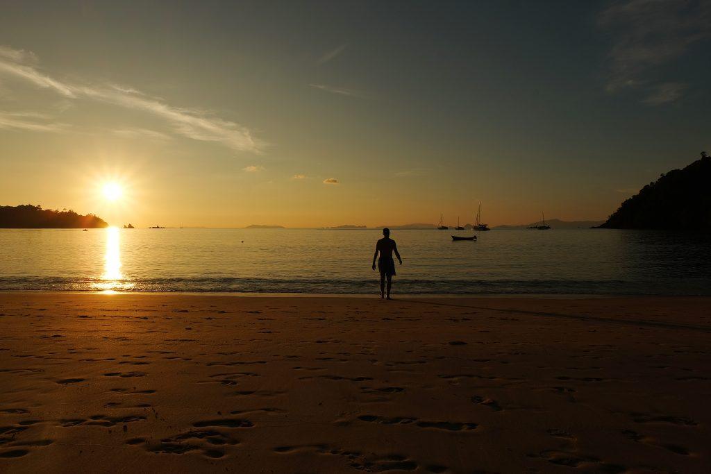 Sunset at Buffalo Beach, Koh Phayam
