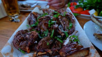 "Grilled Lamb at Stolovaya ""Khochiyon"""