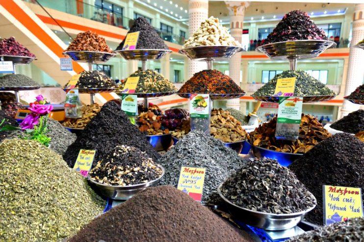 Teas from Green Bazaar Dushanbe