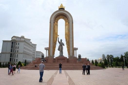 Monument of Amir Ismail Samani Dushanbe