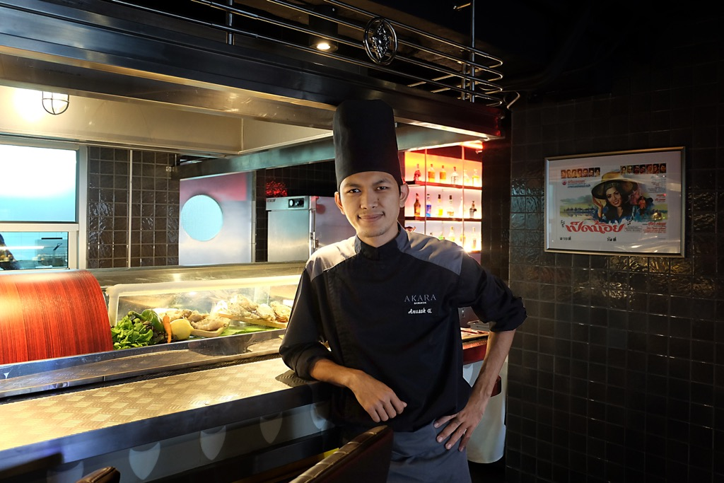 Chef Bank from Ross Kitchen Bangkok
