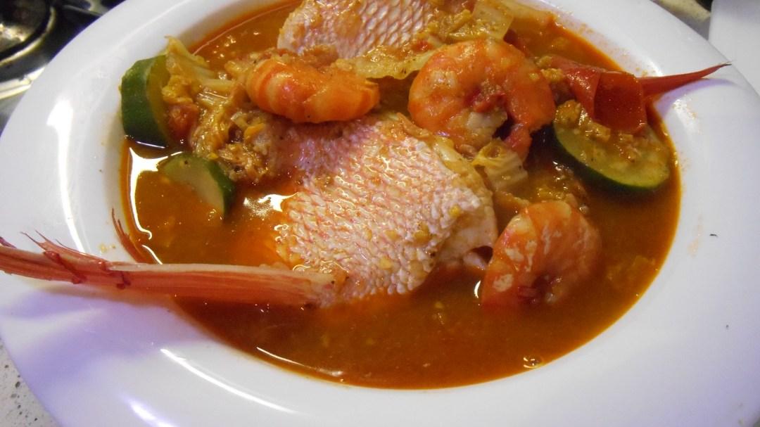 Fish & Prawn Curry