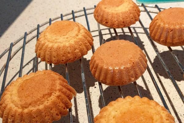 Crispy Mini Sponge Cakes