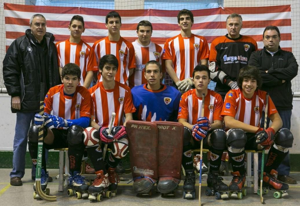 Equip Juvenil del Club Hoquei Sant Feliu, temporada 2013/2014