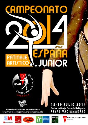 cartel cto españa junior 2014