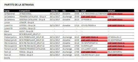 20171122_CHPSF_PartitsSetmana1
