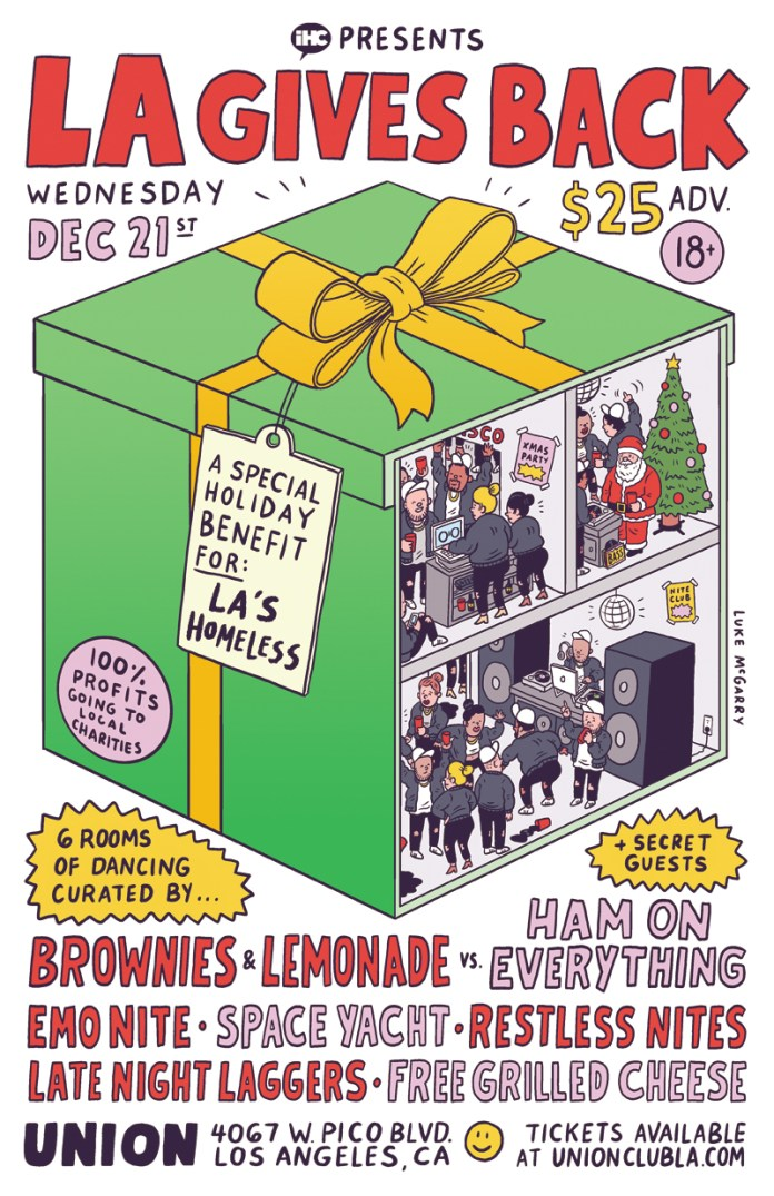IHeartComix present LA Gives Back