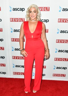 BEVERLY HILLS, CA - JUNE 22: Joelle James at the ASCAP 2017 Rhythm & Soul Music Awards at the Beverly Wilshire Four Seasons Hotel on June 22, 2017 in Beverly Hills, California. (Photo by Earl Gibson III/Getty Images for ASCAP)