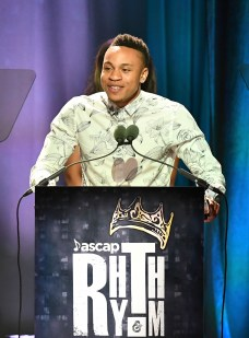 BEVERLY HILLS, CA - JUNE 22: Rotimi speaks onstage at the ASCAP 2017 Rhythm & Soul Music Awards at the Beverly Wilshire Four Seasons Hotel on June 22, 2017 in Beverly Hills, California. (Photo by Earl Gibson III/Getty Images for ASCAP)