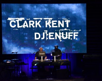 BEVERLY HILLS, CA - JUNE 22: DJ Enuff and Clark Kent perform onstage at the ASCAP 2017 Rhythm & Soul Music Awards at the Beverly Wilshire Four Seasons Hotel on June 22, 2017 in Beverly Hills, California. (Photo by Earl Gibson III/Getty Images for ASCAP)