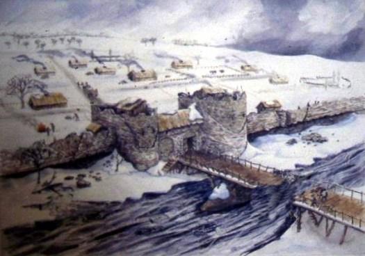 Reconstruction of Dark Age London Bridge