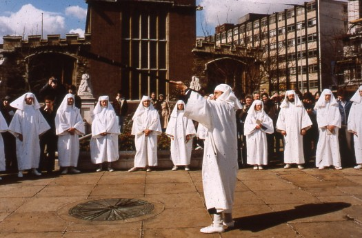 Druids on Tower Hill for the Equinox