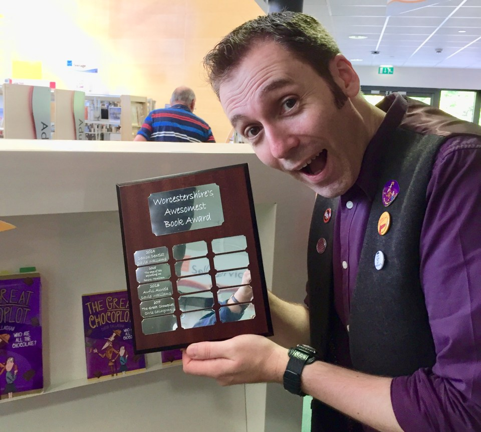 Worcestershire's Awesomest Book Award, The Great Chocoplot, Chris Callaghan, Chocopocalypse